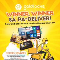 Goldilocks Winner, Pa-Deliver Raffle Promo