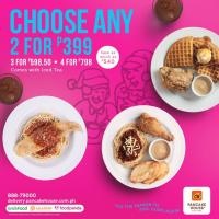 Pancake House Choose Any Two Promo