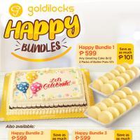Goldilocks Happy Bundles Promo