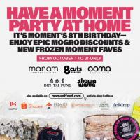 Moment Group 8th Anniversary Food Promo