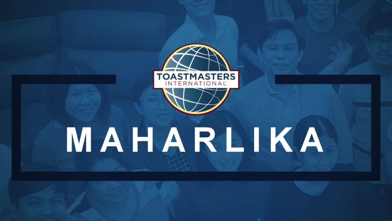 Maharlika Toastmasters Meeting