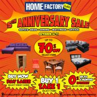 Home Factory Outlets 5th Anniversary Sale