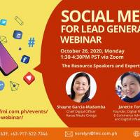 Social Media for Lead Generation Webinar