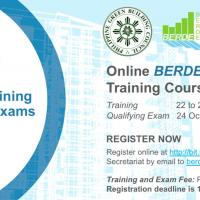 BERDE Professionals Basic Training Course and Qualifying Exams