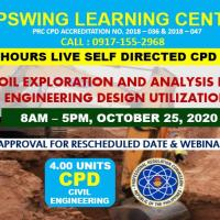 Webinar: Soil Exploration and Analysis for Engineering Design it