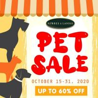 Hobbes and Landes October Pet Sale