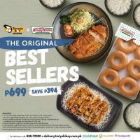 Teriyaki Boy x Krispy Kreme Best Seller Combo