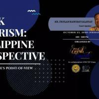 A Webinar on Dark Tourism: Philippine Perspective