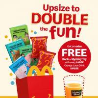 McDonald's Happy Meal Upsize Promo
