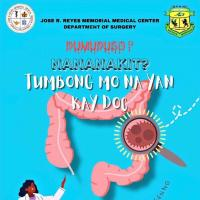 Dumudugo? Nanakit? TUMBONG mo na yan kay Doc!: Tamang Consulta at Screening Para sa Colorectal Cancer