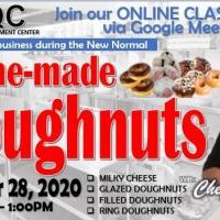 Home-Made Doughnuts Making