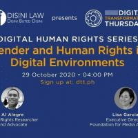 Gender and Human Rights in Digital Environments
