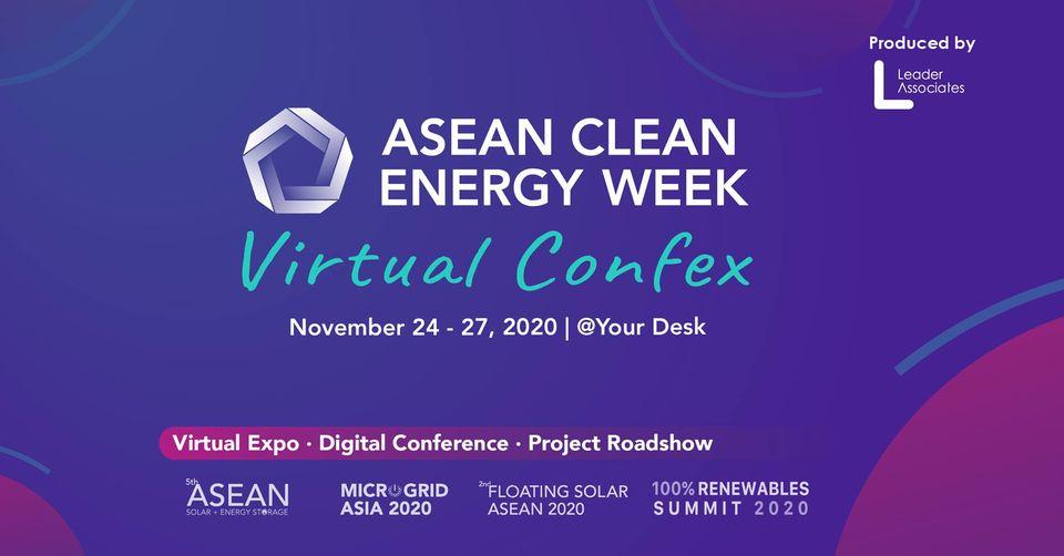 ASEAN Clean Energy Week virtual 2020