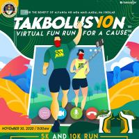 10th Takbolusyon Virtual Run 2020