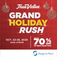 True Value up-to 70% OFF Grand Holiday Rush