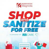 Shop and sanitize for FREE