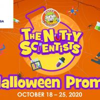 THE NUTTY SCIENTIST HALLOWEEN PROMO