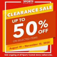 Sports Central's Clearance Sale Specials