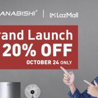 Hanabishi Launches Lazada Flagship Store This Oct. 24,  Offers Discounts on Its Appliances on Opening Day