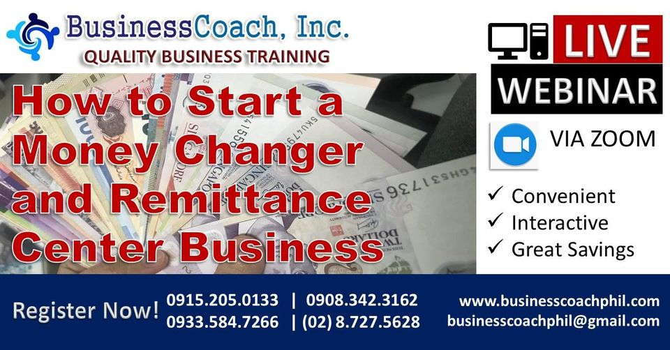 How to Start a Money Changer and Remittance Center Business