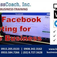 Basic Facebook Marketing for Online Business