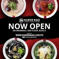 Ramen Nagi Megamall Opening Promo