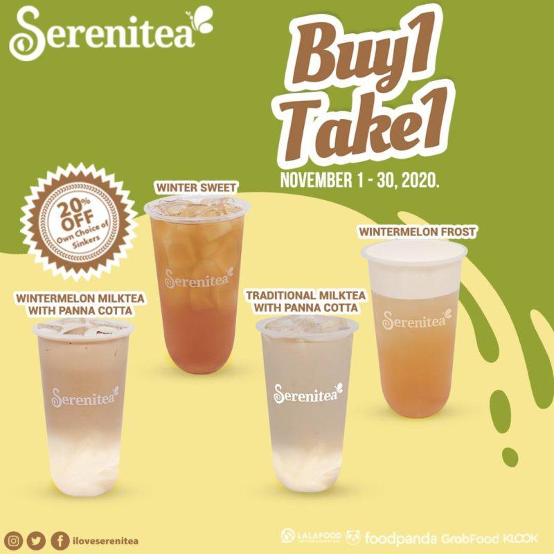 Serenitea BUY 1 TAKE 1 November Promo