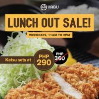 Yabu Lunch Out Sale