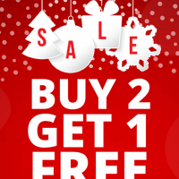 Dr. Kong's pre-holiday promo: Buy 2 Get 1 FREE