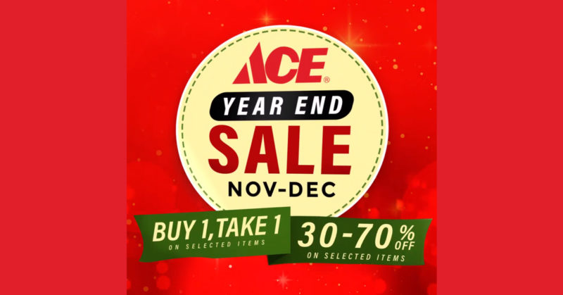 Ace Hardware up-to 70% OFF Year End Sale