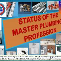 Status of the Master Plumbing Profession
