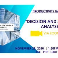 Decision and Situation Analysis
