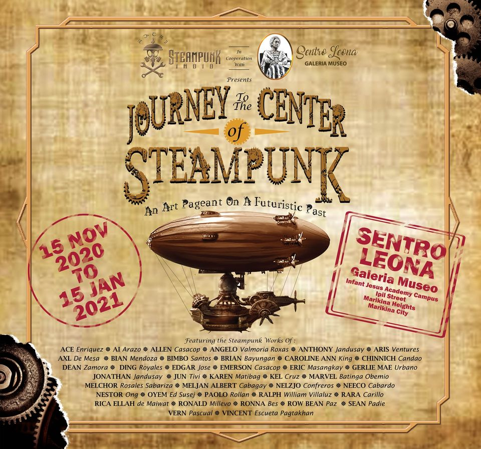 Journey To The Center Of Steampunk