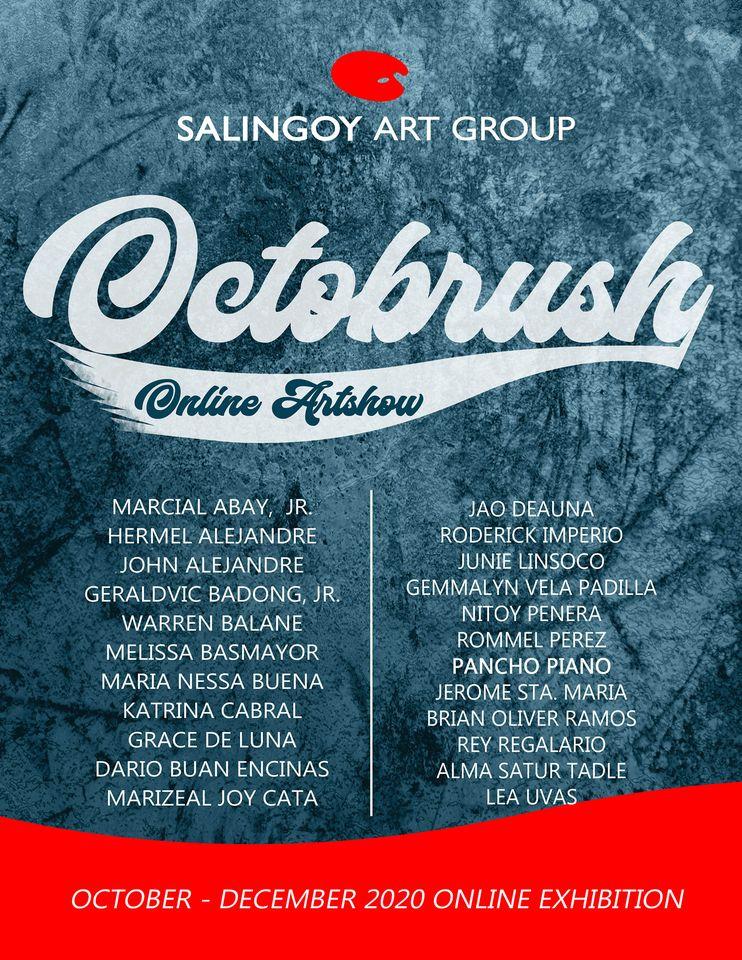 OCTOBRUSH online art show