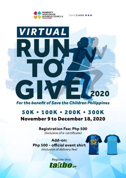 Marriott Virtual Run to Give 2020