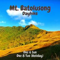MT. BATOLUSONG DAYHIKE