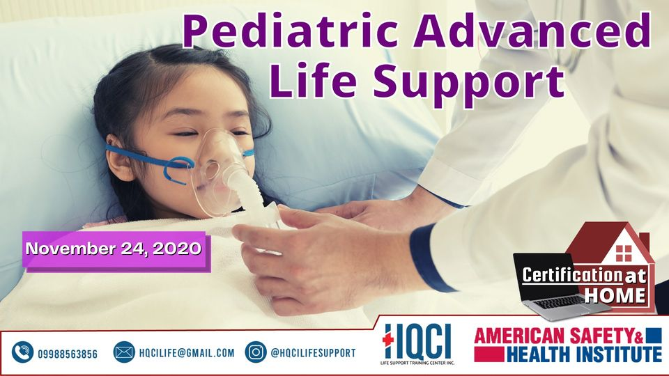 Pediatric Advanced Life Support (PALS) Online Course