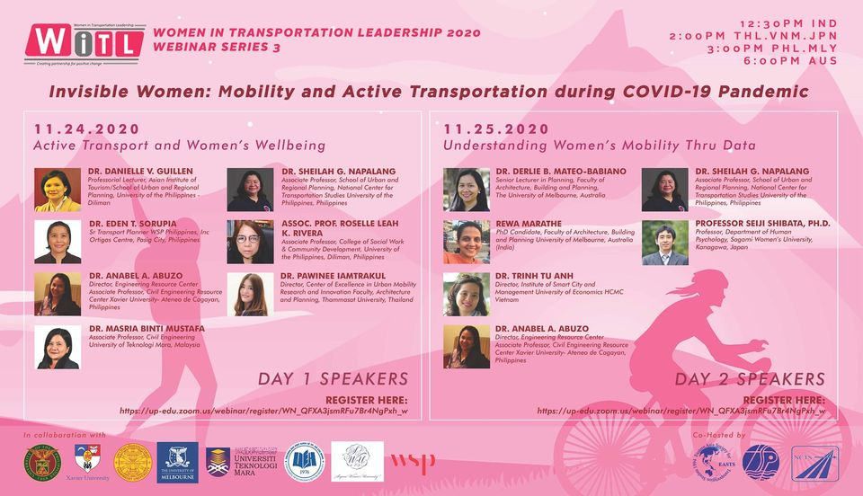 Invisible Women: Mobility & Active Transportation during the Pandemic