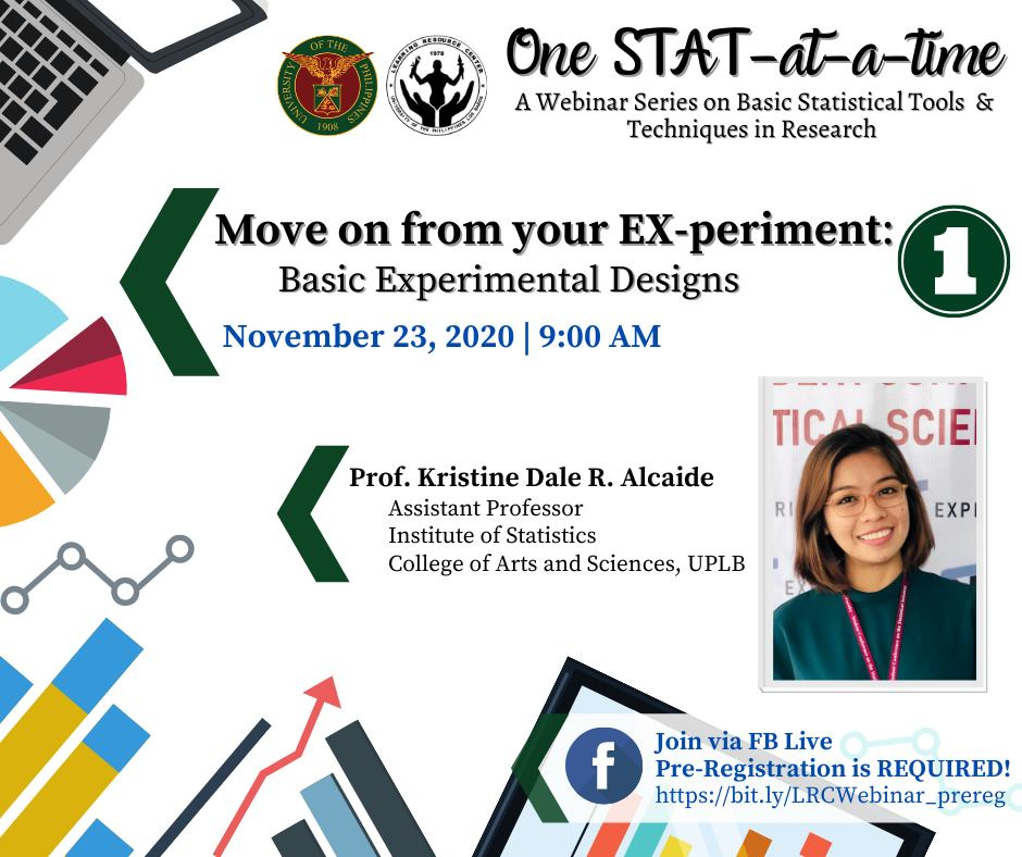 One STAT at a time Session 1 Move on from your EXperiment