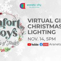Araneta City brings holiday cheer online with much-awaited giant Christmas tree lighting