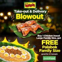 Mang Inasal FREE Palabok Blowout Promo