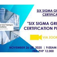 Six Sigma Green Belt Certification Program