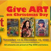 Give ART on Christmas Day