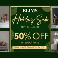 BLIMS Fine Furniture up-to 50% Holiday Sale