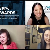 Filipina business leaders win prestigious UN award for gender equality  in the workplace