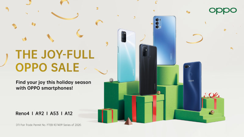 Celebrate a Joyful Christmas with OPPO Joy Full Sale