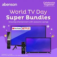 Abenson World TV Day Super Bundles