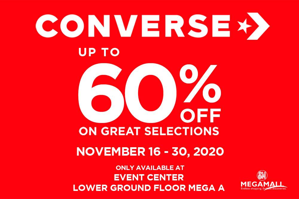 Converse Mall Sale Event at SM Megamall