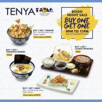 Tenya Buy 1 Get 1 Night Sale