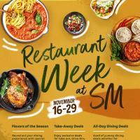 Restaurant Week at SM